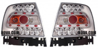 Baklampor LED Krom Audi A4 (B5/8D) Sedan 1994-2001