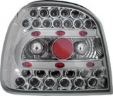 Baklampor LED Krom VW Golf MK3 1991-1997