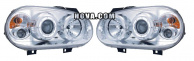 Angel Eyes Strålkastare Krom VW Golf MK4 1998-2003