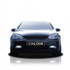 Dimljusgaller DRL Smoke VW Golf 5