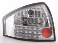 Baklampor LED Krom Audi A6 (C5/4B) Sedan 1997-2004