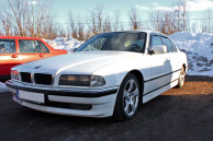 Vindavvisare BMW 7-Serien E38 Sedan 1994-
