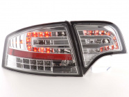 Baklampor LED Krom Audi A4 (B7/8E) Sedan 2004-2008