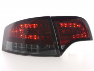 Baklampor LED Smoke/Röd Audi A4 (B7/8E) Sedan 2004-2008