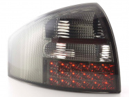 Baklampor LED Smoke Audi A6 (C5/4B) Sedan 1997-2003
