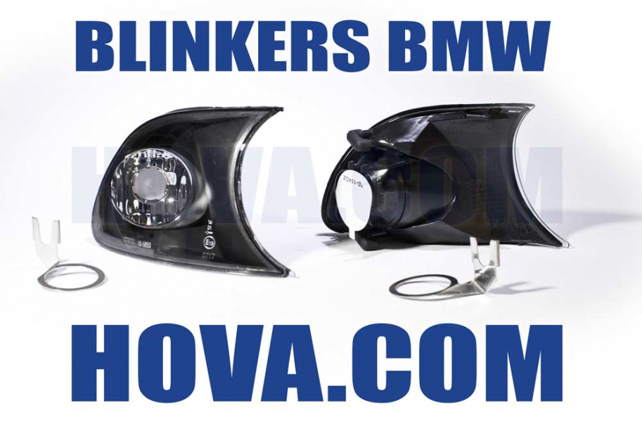Blinkers Svart BMW 3-Serien E46 Coupe/Cabriolet 2001-2003