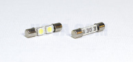 Spollampor LED 2x SMD Diod 29mm