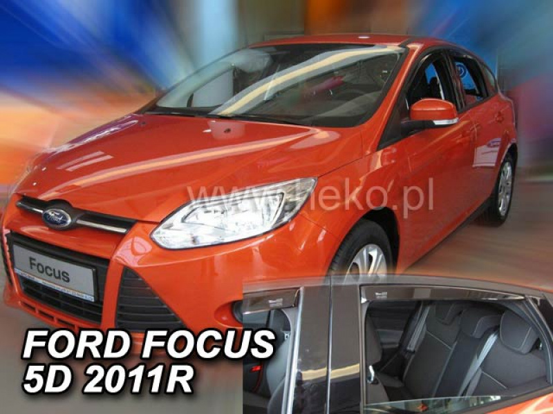 Vindavvisare Ford Focus MK3 4-Dörrars Sedan /5-Dörrars Hatchback 2011->