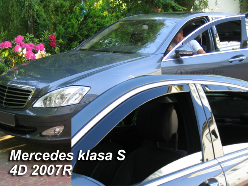 Vindavvisare Mercedes-Benz S-Klass (221) 4-Dörrars Sedan 2005-2013