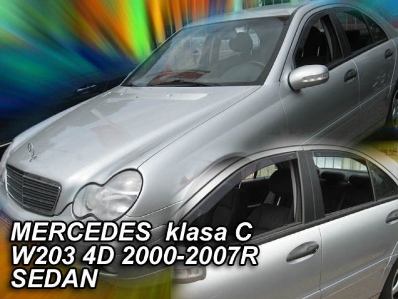 Vindavvisare Mercedes-Benz C-Klass (203) 4-Dörrars Sedan 2000-2007