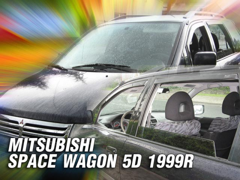Vindavvisare Mitsubishi Space Wagon 5D, Space Star 5-Dörrars Mitsubishi Space Wagon 5-Dörrars 1999-2005, Space Star 5-Dörrars 1998-2005