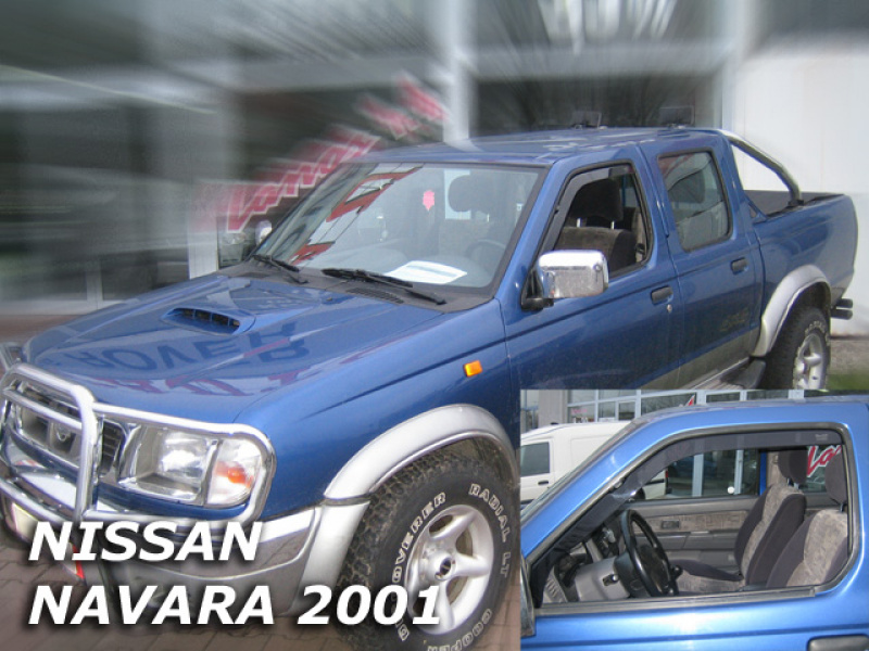 Vindavvisare Nissan Navara / Pick Up D22 2/4D 2001-2005