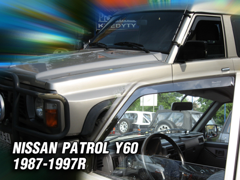 Vindavvisare Nissan Patrol GR Y-60 5-Dörrars (Version with the electric mirror) 1987-1997
