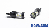 Lampa LED Backljus T20 / S25 / W21W 80W Osram
