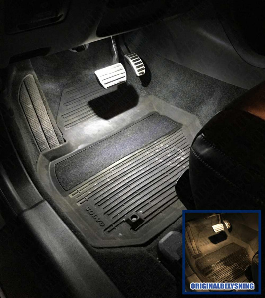 Innerbelysning Led Volvo S60 Ii S80 Ii V40 V60 V70 Iii