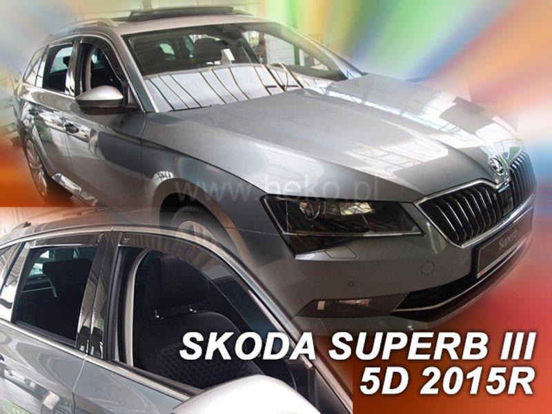 Främre Grill Skoda Superb Mk3