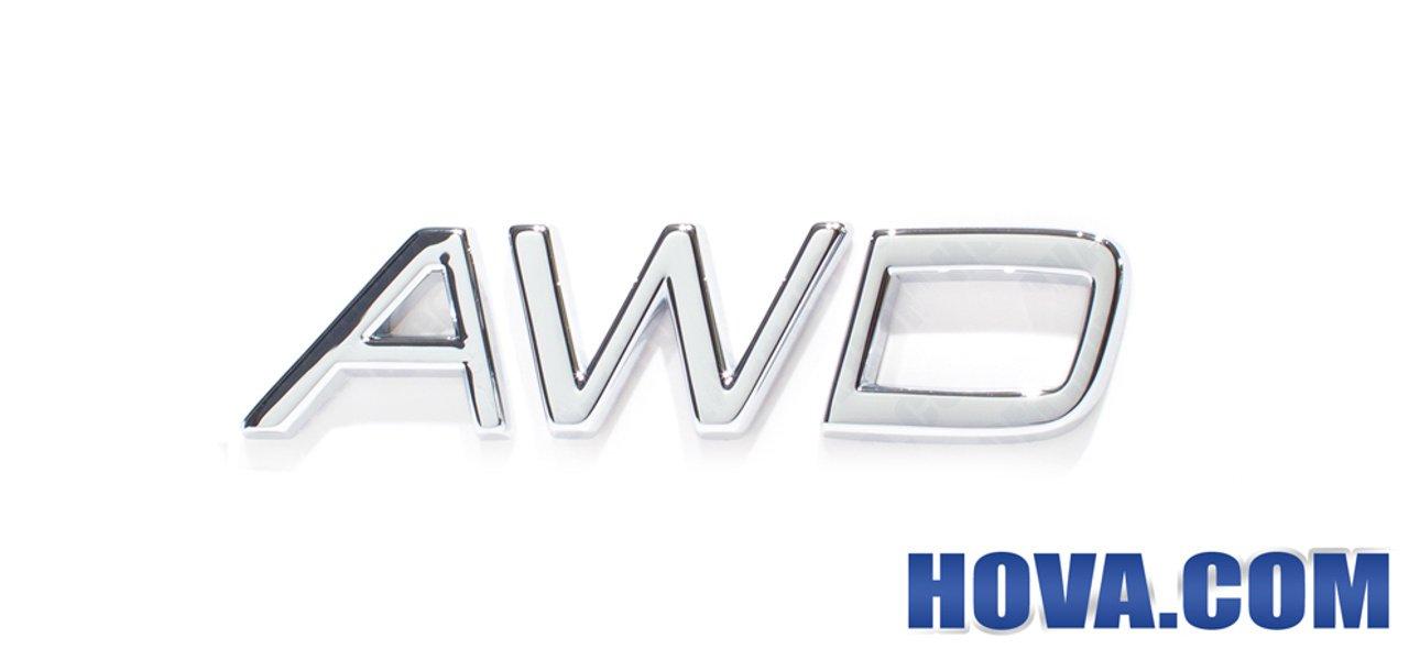 Emblem ''AWD'' Volvo V70, XC70, XC90, S40N/V50, XC60, S80 - Hova.com