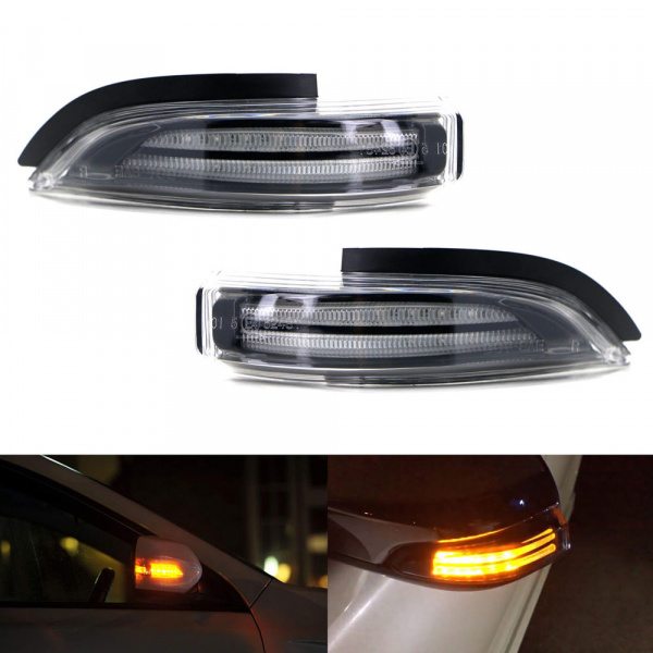 Dynamic LED Spegelblinkers Toyota Yaris, Prius, Verso mm